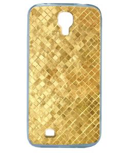 Squares - Samsung Galaxy S4 Carcasa Transparenta Silicon