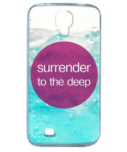 Deep - Samsung Galaxy S4 Carcasa Transparenta Silicon