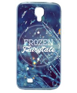 Frozen Fairytale - Samsung Galaxy S4 Carcasa Transparenta Silicon
