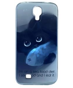 Sea Food - Samsung Galaxy S4 Carcasa Silicon