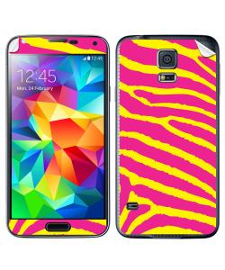 Model Zebra - Samsung Galaxy S5 Skin