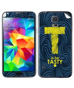T is for Tasty - Samsung Galaxy S5 Skin