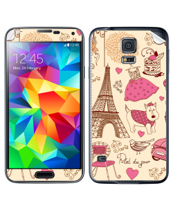 France - Samsung Galaxy S5 Skin