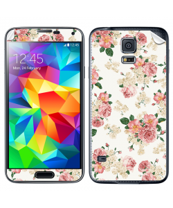 Peacefully Pink - Samsung Galaxy S5 Skin