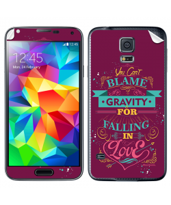 Falling in Love - Samsung Galaxy S5 Skin