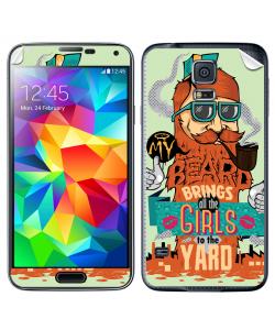 My Beard - Samsung Galaxy S5 Skin