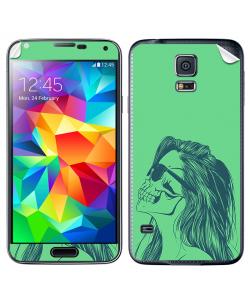 Skull Girl - Samsung Galaxy S5 Skin