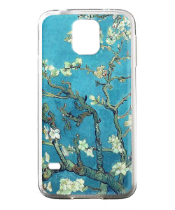 Van Gogh - Branches with Almond Blossom - Samsung Galaxy S5 Mini Carcasa Silicon