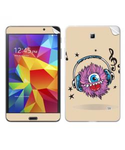 Fluffy Headphones - Samsung Galaxy Tab Skin