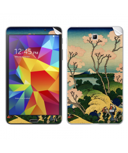 Hokusai - The Fuji from Gotenyama at Shinagawa on the Tokaido - Samsung Galaxy Tab Skin