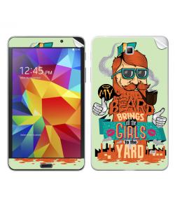 My Beard - Samsung Galaxy Tab Skin