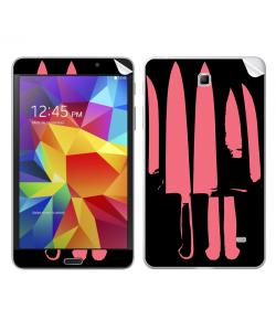 Pink Knife - Samsung Galaxy Tab Skin