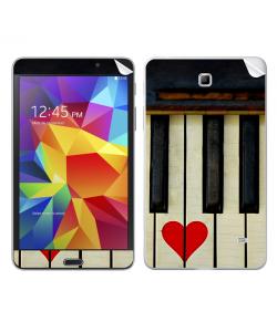 Piano Love - Samsung Galaxy Tab Skin