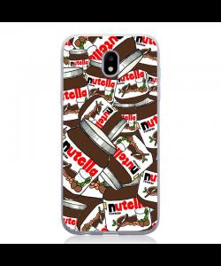 Nutella Everywhere - Samsung Galaxy J5 2017 Carcasa Silicon