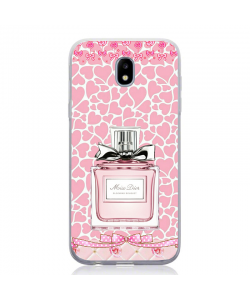 Pink Miss Dior - Samsung Galaxy J5 2017 Carcasa Silicon