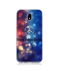 Glitter Mercedes - Samsung Galaxy J5 2017 Carcasa Silicon