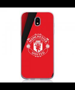 Manchester United - Samsung Galaxy J5 2017 Carcasa Silicon
