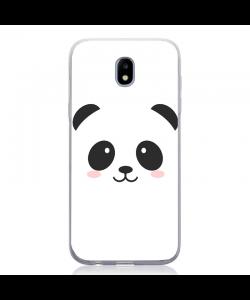 Kawaii Panda Face - Samsung Galaxy J5 2017 Carcasa Silicon