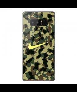 Camo Nike - Samsung Galaxy Note 8 Carcasa Transparenta Silicon