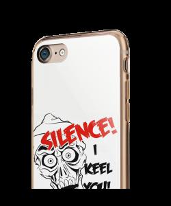 Silence I Keel You - iPhone 7 / iPhone 8 Carcasa Transparenta Silicon