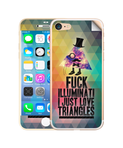Love Triangles - iPhone 7 / iPhone 8 Skin