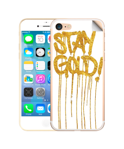 Stay Gold - iPhone 7 / iPhone 8 Skin