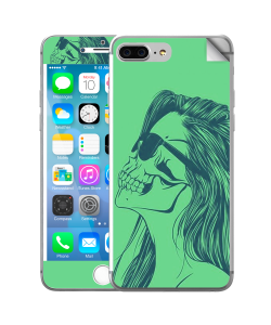 Skull Girl - iPhone 7 Plus / iPhone 8 Plus Skin