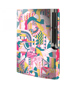Doodle - Sony Play Station 3 Skin