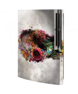 Spring skull - Sony Play Station 3 Skin