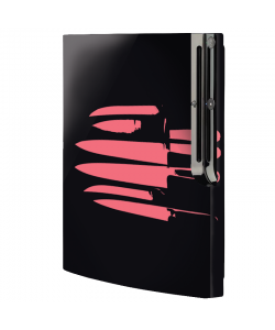 Pink Knife - Sony Play Station 3 Skin