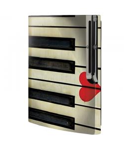 Piano Love - Sony Play Station 3 Skin