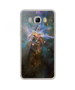 Stand Up for the Stars - Samsung Galaxy J7 Carcasa Silicon Transparent