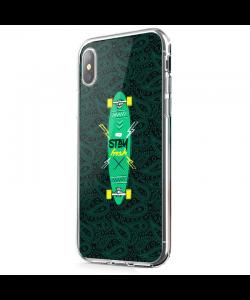 Stay Fresh - iPhone X Carcasa Transparenta Silicon