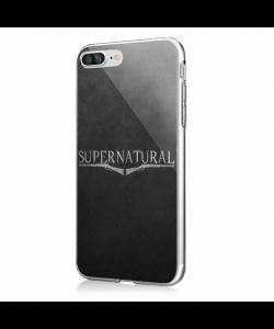 Supernatural - iPhone 7 Plus / iPhone 8 Plus Carcasa Transparenta Silicon