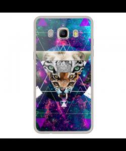 Tiger Swag - Samsung Galaxy J7 Carcasa Silicon Transparent