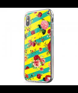 Tread Softly - iPhone X Carcasa Transparenta Silicon