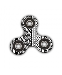 Fidget Spinner - Tribal Black & White