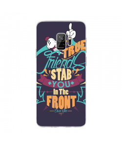 True Friends - Samsung Galaxy S9 Carcasa Transparenta Silicon