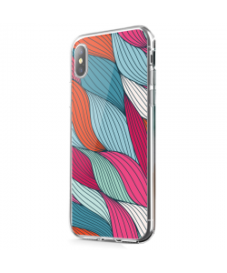Under the Sea - iPhone X Carcasa Transparenta Silicon