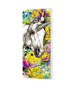 Unicorns and Fantasies - Samsung Galaxy J5 Carcasa Silicon