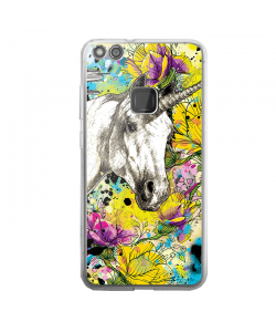 Unicorns and Fantasies - Huawei P10 Lite Carcasa Transparenta Silicon