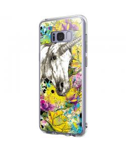 Unicorns and Fantasies - Samsung Galaxy S8 Carcasa Premium Silicon