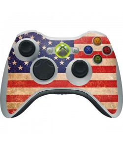 USA - Xbox 360 Wireless Controller Skin
