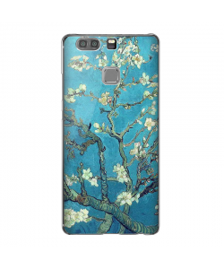 Van Gogh Almond branch with blossoms - Huawei P9 Plus Carcasa Transparenta Silicon