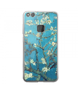Van Gogh - Branches with Almond Blossom - Huawei P10 Lite Carcasa Transparenta Silicon