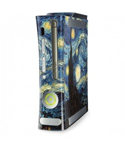 Van Gogh - Starry Night - Xbox 360 HDD Inclus Skin