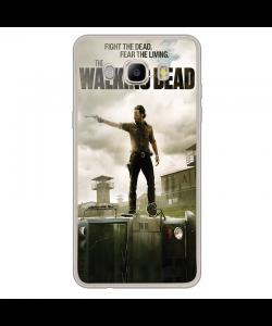 Walking Dead 2 - Samsung Galaxy J7 2017 Carcasa Transparenta Silicon
