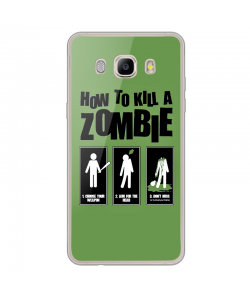 Walking Dead 4 - Samsung Galaxy J7 2017 Carcasa Transparenta Silicon