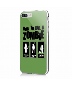Walking Dead 4 - iPhone 7 Plus / iPhone 8 Plus Carcasa Transparenta Silicon
