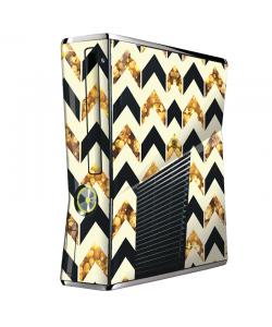 Black & Gold - Xbox 360 Slim Skin